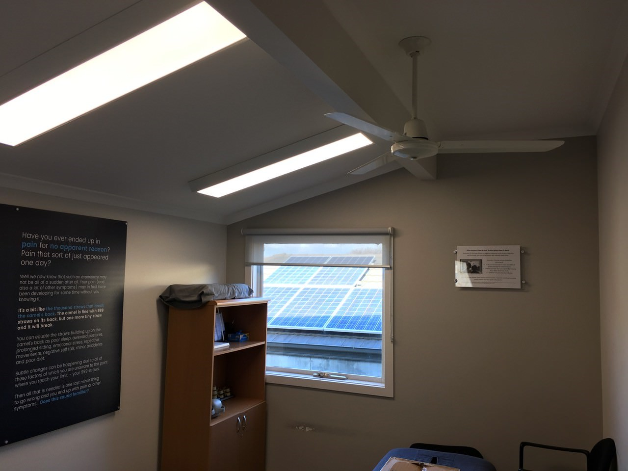 LED Panel Lighting upgrade, Somerville Chiropractic
