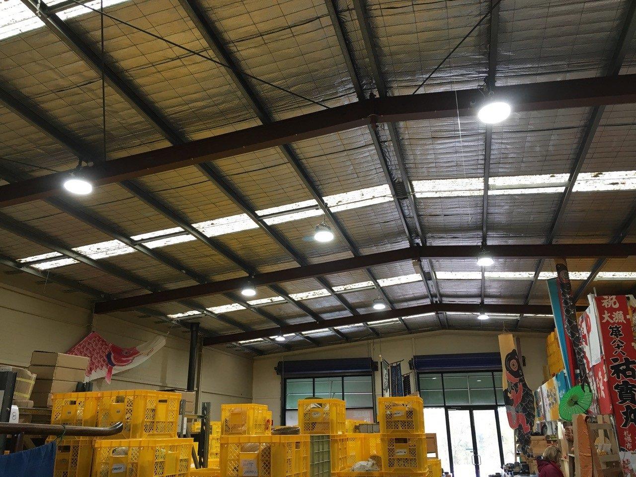 LED Highbay Lighting upgrade - Commercial Lighting Mornington